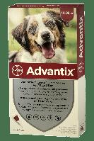 Капли Bayer Advantix (Адвантикс) от блох и клещей для собак 10-25 кг