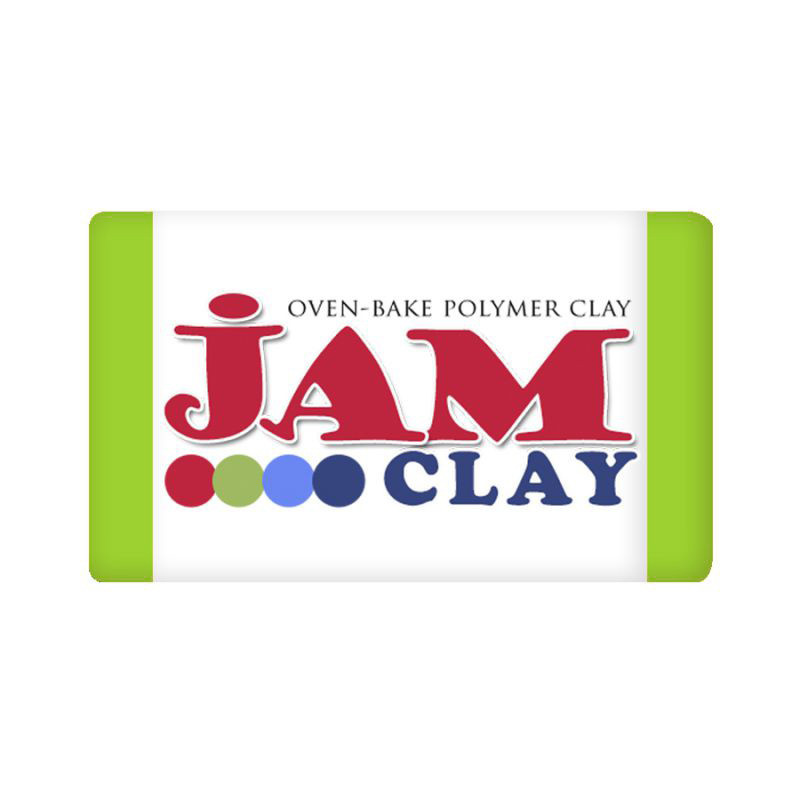 Пластика Jam Clay, Зеленое яблоко, 20г