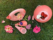 CUPPI. Игровой набор для песка и снега (розовые совочки + фиолетовый мячик) QUUT, фото 3