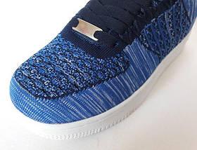 Кроссовки Wonex - 81 NAVI Синие Мокасины  (размеры: 37,38,39), фото 2