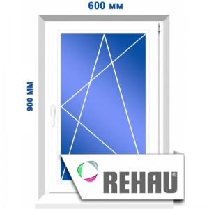 Одностворчатое окно, 600 х 900 мм
