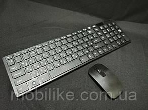 Бездротова клавіатура Jiexin JX-906 + миша