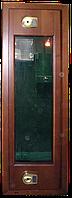 Оружейный сейф под заказ с отделкой из ценных пород древесины на 3 ствола ОРД-3