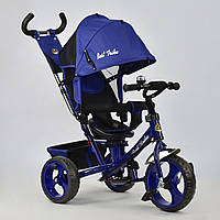 """Детский трехколесный велосипед, поворотное сидение """"Best Trike 5700"""" синий"""