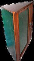Угловой Оружейный сейф под заказ с отделкой из ценных пород древесины на 10 стволов ОР-Д-СТ 10