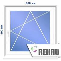 Одностворчатое окно, 900 х 900 мм
