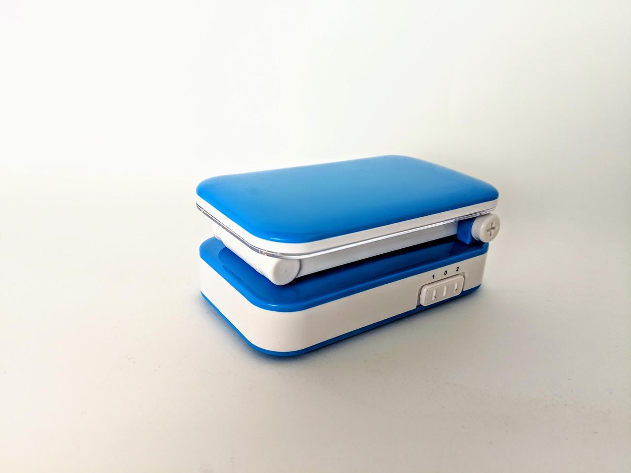 Настольная лампа Tiross (голубая)