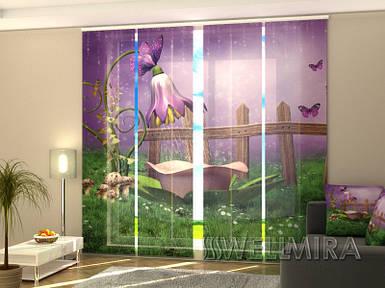 Панельные Фотошторы Сказочный душ 240 х 240 см фото шторы штора штори