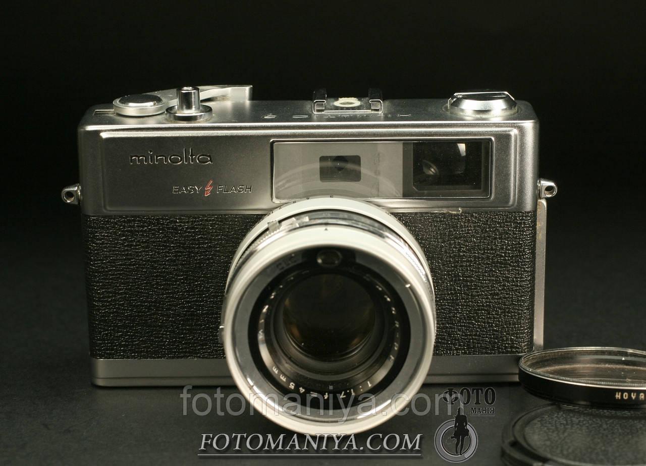 Minolta HI-Matic 9 Rokkor-PF 45mm f1.7