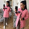 Женская куртка на кнопках с карманами С, М, фото 3