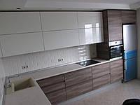 Кухни на заказ пластик шпон Одесса, фото 1