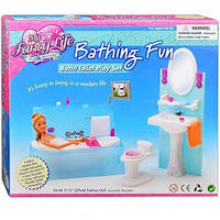 Мебель для куклы Ванная 2820