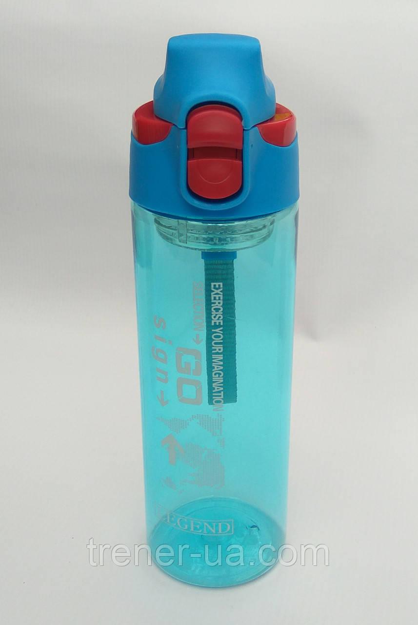 Пляшка для води спортивна 600 мл