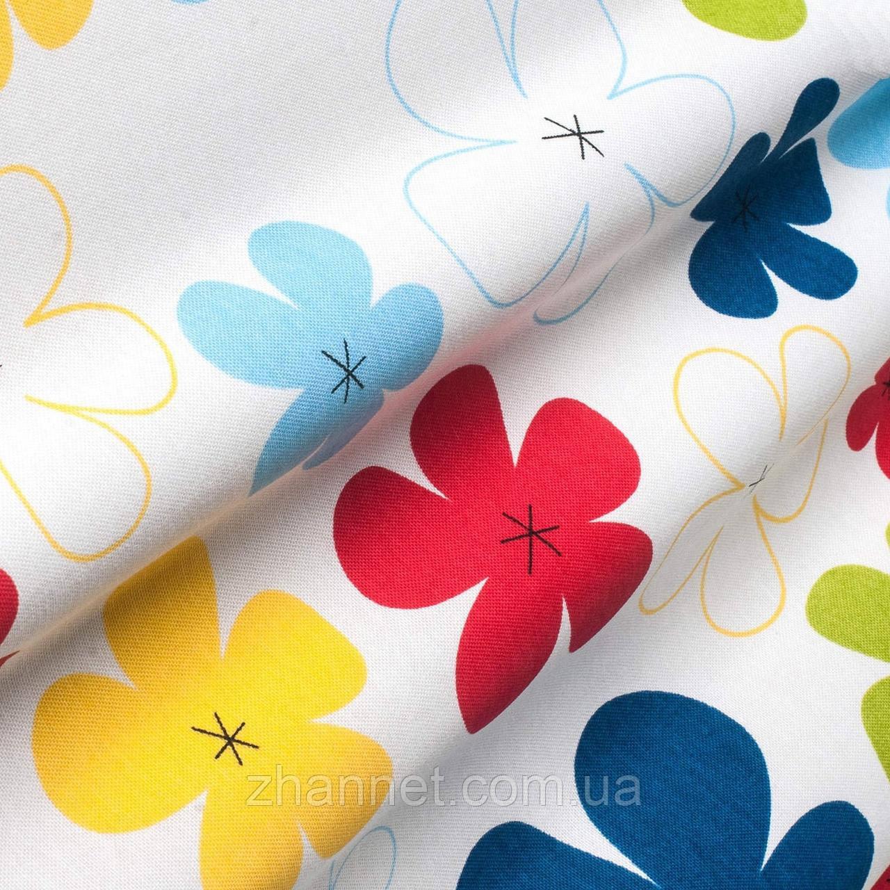 Тканина для штор Eliza мультиколор 180 см (07078129)