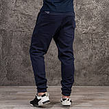 """Спортивные штаны темно синего цвета  """"DIAS"""", фото 3"""