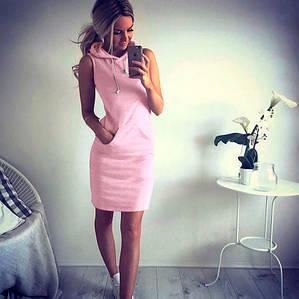 Розовое спортивное платье Darina (Код MF-150) L