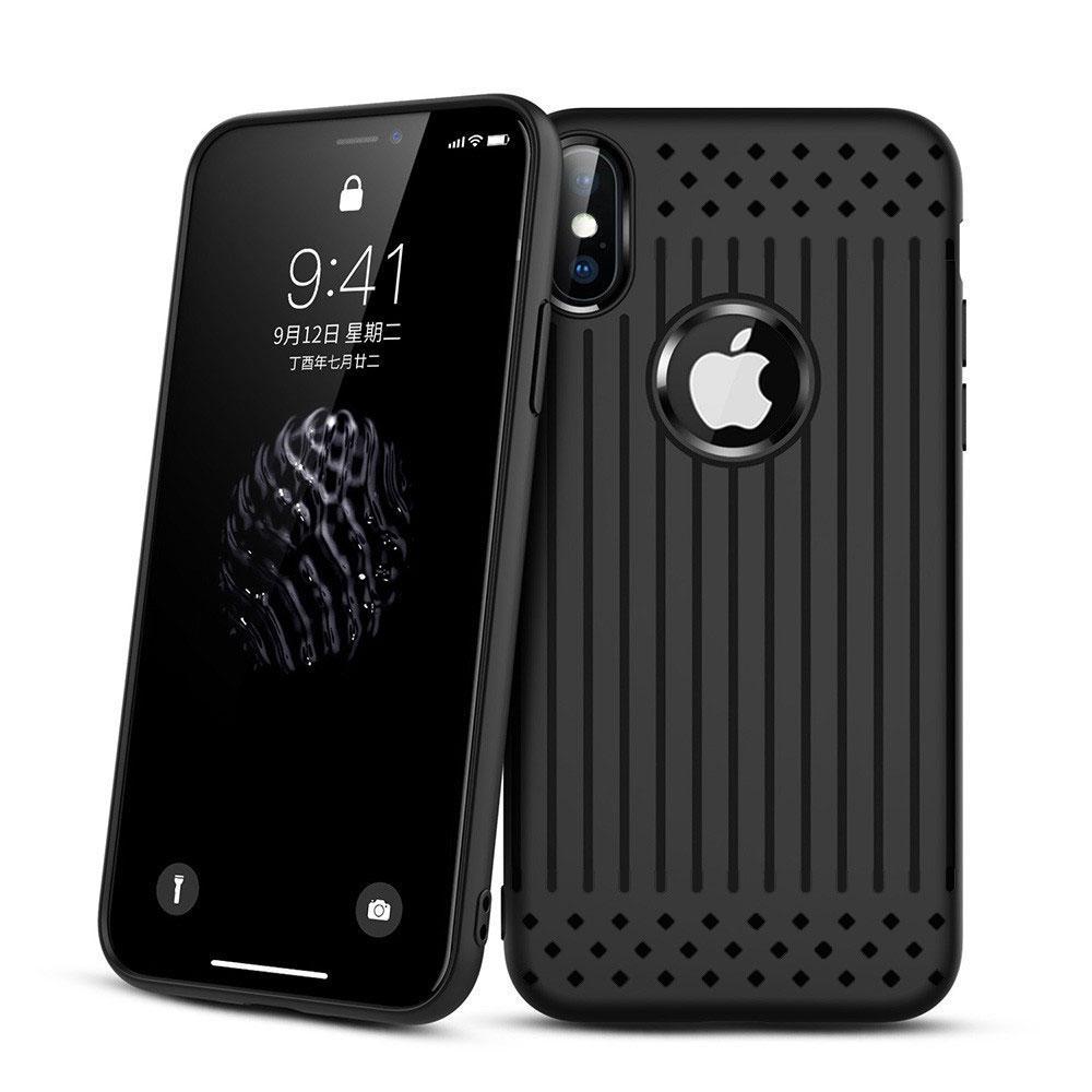 Чехол накладка Primo Shell TPU для Apple iPhone X / iPhone XS - Black
