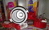 Детский термос 220 мл.с соской и трубочкой, фото 3
