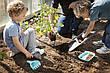 Игровой набор для песка и снега RAKI (серый совочек+ голубые грабельки) QUUT, фото 4