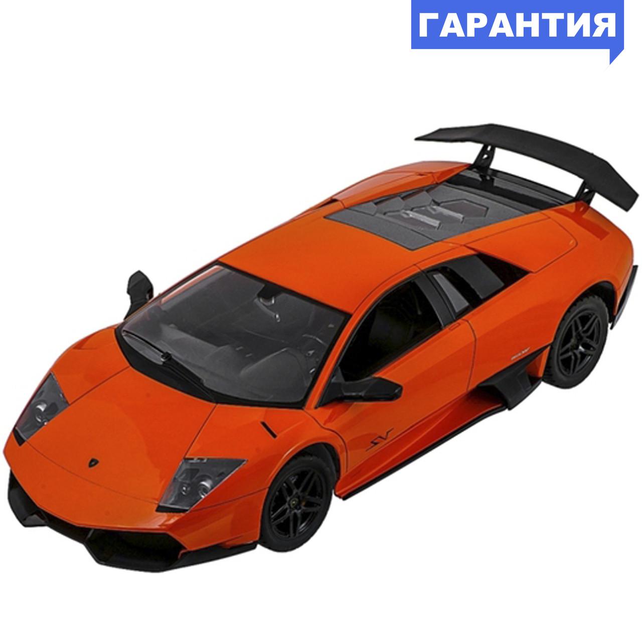 Машинка р/у 1:10 Meizhi лиценз. Lamborghini LP670-4 SV (оранжевый)