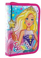 "Пенал твёрдый с двумя клапанами HP-04 ""Barbie"" «YES» 532174, фото 1"