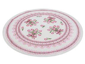 Скатерть тканевая гобеленовая пасхальная круглая Ø180 см на круглый стол, фото 3