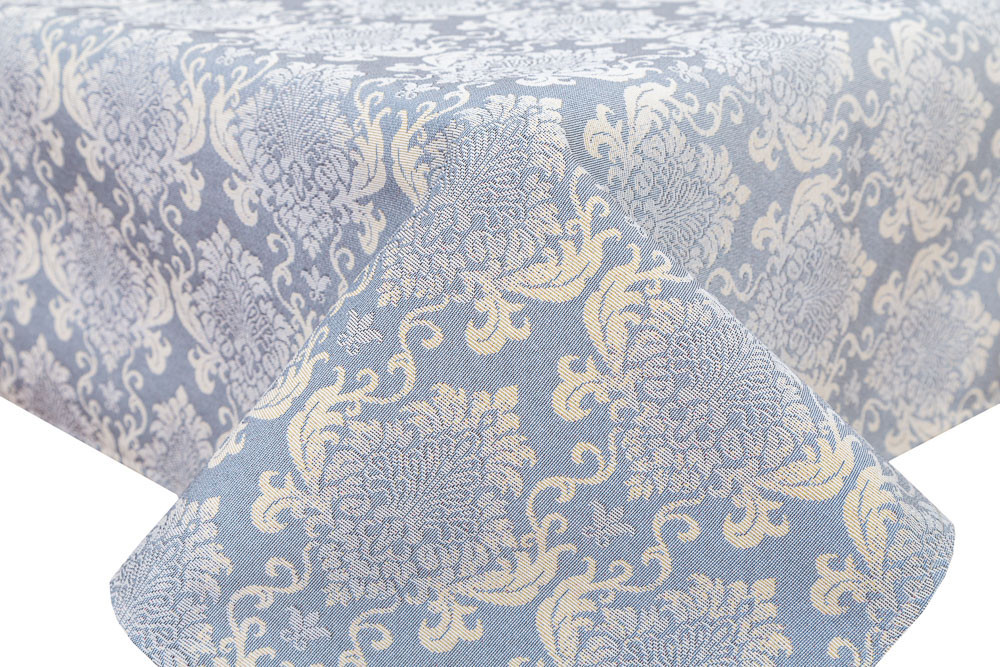 Скатерть тканевая гобеленовая пасхальная круглая Ø140 см на круглый стол