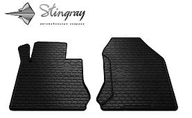 Передние резиновые коврики Mercedes-Benz W210 E 1995- (2-шт) Stingray 1012252