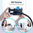 Универсальный гибкий штатив 80 см Lazy Bracket с держателем для планшета/смартфона. Держатель для гаджетов, фото 4