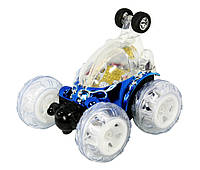 Машинка перевертыш на пульте управления  Invincible Tornado (LX9029) с аккум. (синий)