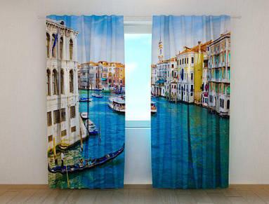 """Фотошторы """"Венеция 1"""" 250 х 260 см фото штори шторы с рисунком"""