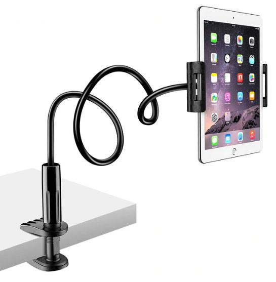 Универсальный гибкий штатив 80 см Lazy Bracket с держателем для планшета/смартфона. Держатель для гаджетов