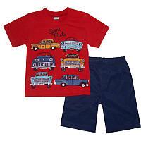 Костюм для мальчика 2-5лет(92-110) 5316 футболка и шорты