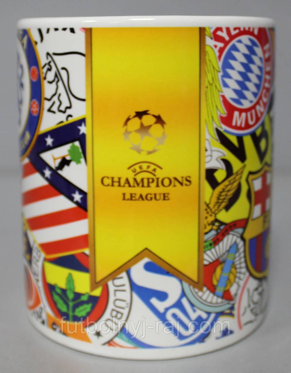 Чашка чайна Ліга Чемпіонів