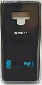 Оригинальный Силиконовый Чехол для Samsung Galaxy Note 9 Silicone Case (Черный)