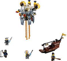 """Конструктор Ninjago Movie Lepin 06062 (аналог Lego 70610) """"Летающая подводная лодка"""" 368 деталей, фото 2"""