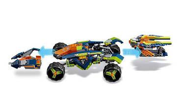 """Конструктор Bela 10704 Nexo Knight (аналог Lego 70355) """"Вездеход Аарона 4x4"""", 614 детали, фото 3"""