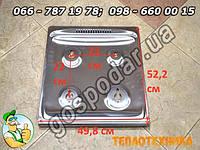 Стол из нержавейки газовой плиты Гефест 49,8х52,2 см, стол из нержавеющей стали Gefest 3100, модель 3200