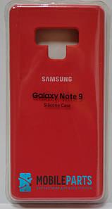 Оригинальный Силиконовый Чехол для Samsung Galaxy Note 9 Silicone Case (Терракотовый)