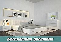 Кровать деревянная двуспальная Регина Люкс с подъемным механизмом