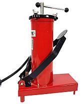 Нагнетатель смазки высокого давления с ножной накачкой 3 л Marpol, фото 3