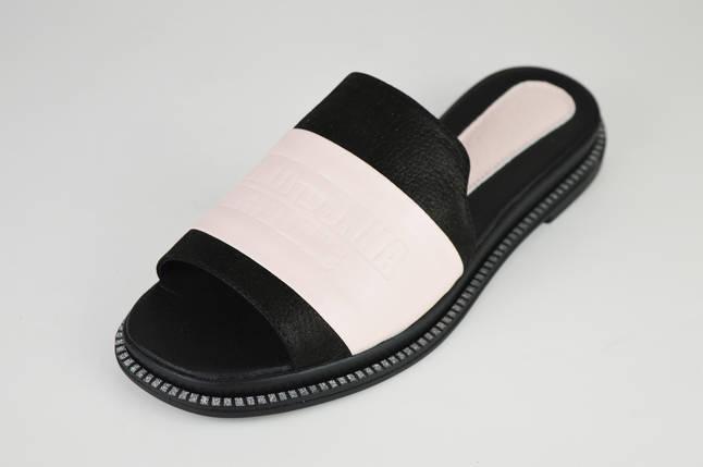8f9bce6eb Шлепанцы женские кожаные пудра Teona 122: продажа, цена в ...