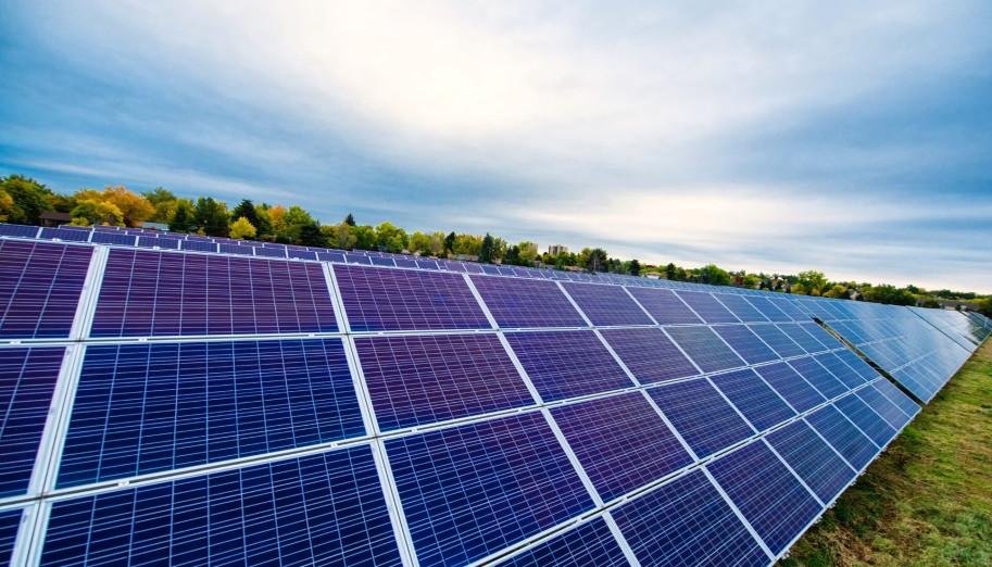 Система креплений солнечных батарей для наземного размещения 40 шт (10 кВт)