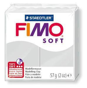 Пластика Soft, Серая, 57г, Fimo