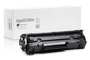 Картридж Canon i-Sensys LBP6030W (чёрный) совместимый, стандартной ёмкости (1.600 копий) аналог от Gravitone