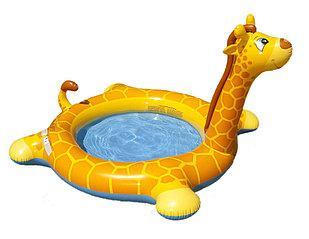 бассейн надувной деский_жираф_фото