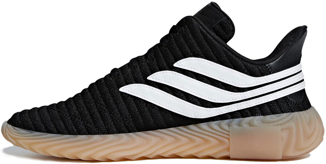 ac378e2e3526 Мужские кроссовки Adidas Sobakov core black/ftwr white/gum AQ1135