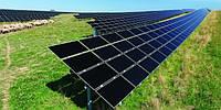 Система креплений солнечных батарей для наземного размещения 110 шт (30 кВт)