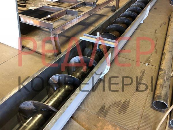 Транспортеры шлаковые подъемный ленточный конвейер