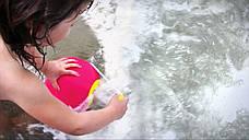 Сферичное ведро Quut Ballo розовое с желтым (170112), фото 2